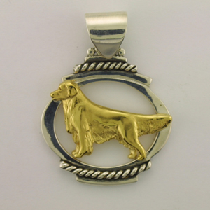 Sterling Silver with Gold Vermeil