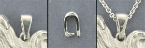 Sterling Silver small bail - SBAIL103