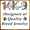 14K-9, Inc. - Solid Gold Dog Breed Jewelry