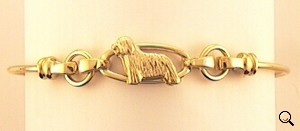 Bearded Collie Bracelet - BCOL249