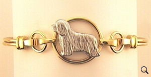 Bearded Collie Bracelet - BCOL252