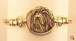Bearded Collie Bracelet - BCOL255