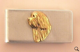 Bearded Collie Money Clip - BCOL268