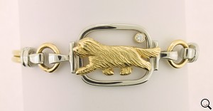 Bearded Collie Bracelet - BCOL299