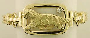 Bearded Collie Bracelet - BCOL417