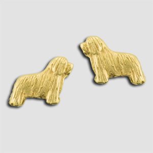 Bearded Collie Earrings - BCOL501