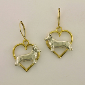 Cardigan Welsh Corgi Earrings - CAWC501