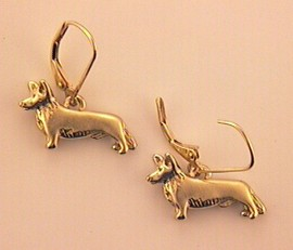 Cardigan Welsh Corgi Earrings - CAWC104