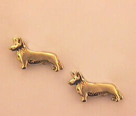 Cardigan Welsh Corgi Earrings - CAWC105