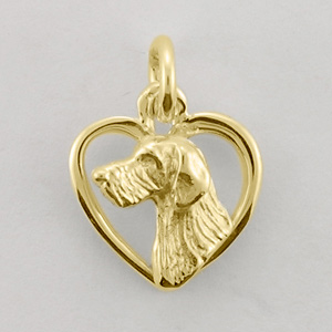 Dachshund, Wire-Haired Pendant - DCHW502