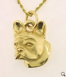 French Bulldog Pendant - FREN112 - Click Image to Close