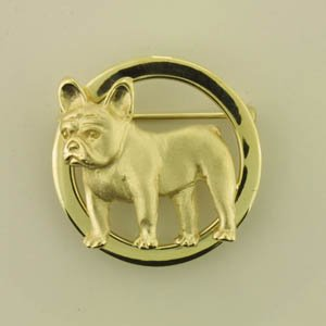French Bulldog Brooch - FREN147