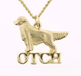Golden Retriever Pendant - GOLD118