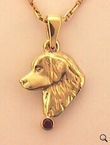 Golden Retriever Pendant - GOLD120