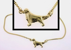 Golden Retriever Anklet - GOLD132
