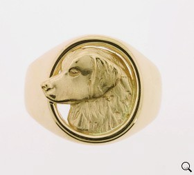 Golden Retriever Ring - GOLD134