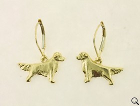 Golden Retriever Earrings - GOLD144