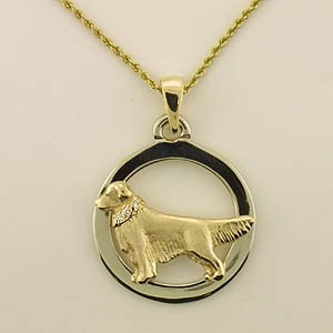 Golden Retriever Pendant - GOLD165