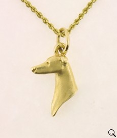 Greyhound Pendant - GREY102
