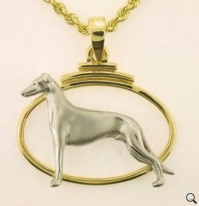 Greyhound Pendant - GREY108