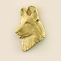German Shepherd Dog Pendant - GSD180