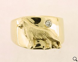 German Shepherd Dog Ring - GSD312