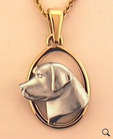 Labrador Retriever Pendant - LAB116