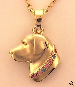 Labrador Retriever Pendant - LAB128