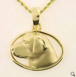 Labrador Retriever Pendant - LAB142