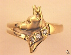 Miniature Pinscher Ring - MPIN103