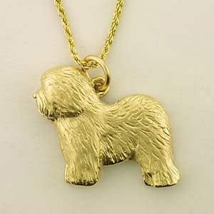 Old English Sheepdog Pendant - OES101