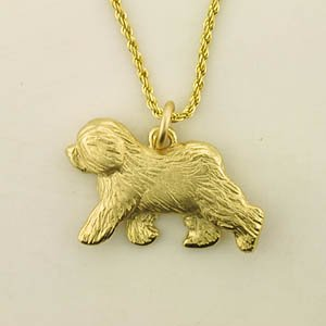 Old English Sheepdog Pendant - OES124
