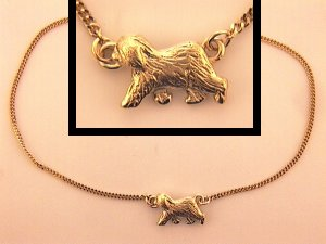 Old English Sheepdog Anklet - OES178