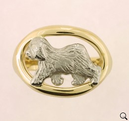Old English Sheepdog Ring - OES181