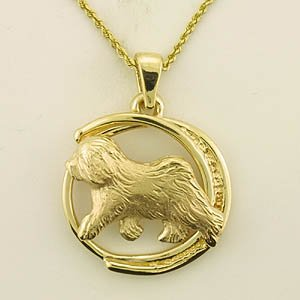 Old English Sheepdog Pendant - OES211