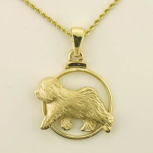 Old English Sheepdog Pendant - OES212