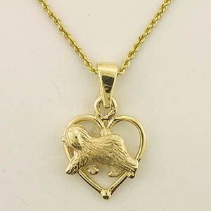 Old English Sheepdog Pendant - OES220