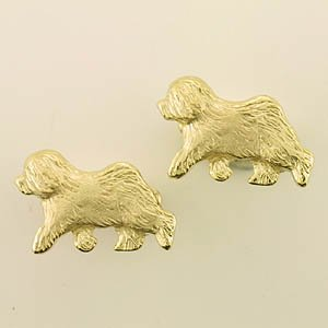 Old English Sheepdog Cufflink - OES223