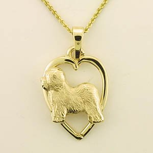 Old English Sheepdog Pendant - OES226