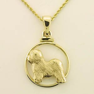 Old English Sheepdog Pendant - OES227