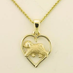 Old English Sheepdog Pendant - OES241
