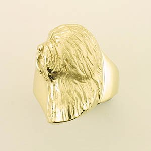 Old English Sheepdog Ring - OES247
