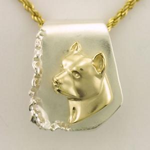 14k gold pit bull pendants 14k 9 inc designers of quality gold pit bull pendant pbull116 aloadofball Gallery