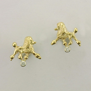 Poodle Earrings - POOS526