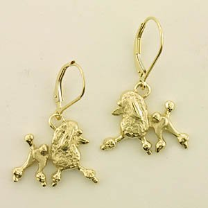 Poodle Earrings - POOS113