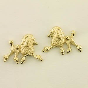 Poodle Earrings - POOS180