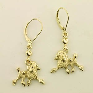 Poodle Earrings - POOS181