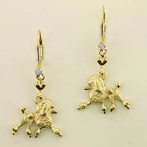 Poodle Earrings - POOS183