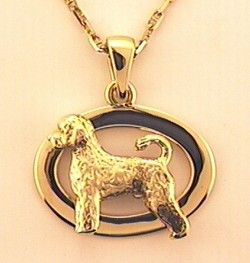 Portuguese Water Dog Pendant - PORT103