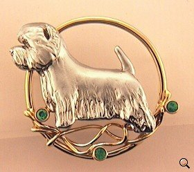 West Highland White Terrier Brooch - WEST112